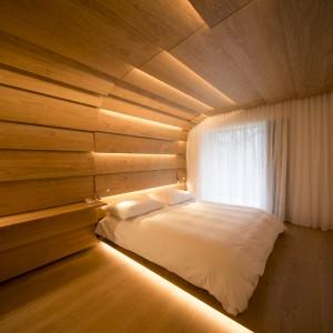 Hotelzimmer Kuma Kengo