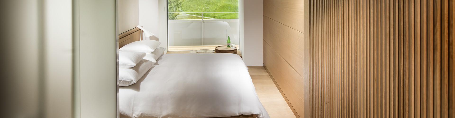 Hotelzimmer Tadao Ando